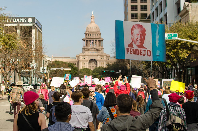 Women's March in Austin