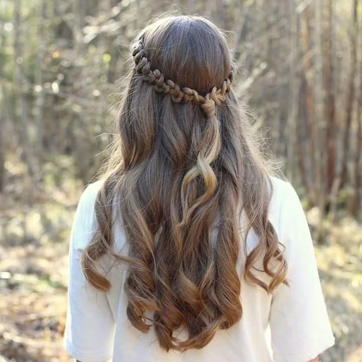 Hair Style Wedding Open Hair: +50 Trendy Head-turning Hairstyles For Length Hair