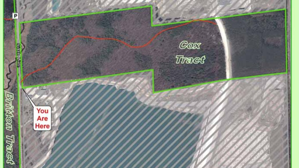 Halton Regional Forest tract map