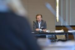 Hans-Hendrik Falk vertritt den Hauptpartner des SZWdL, den Bundesverband Deutscher Zeitungsverleger