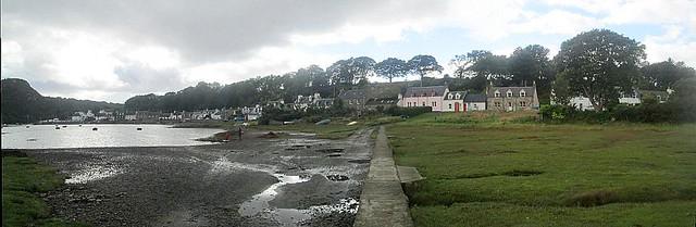 Plockton Reverse Panorama
