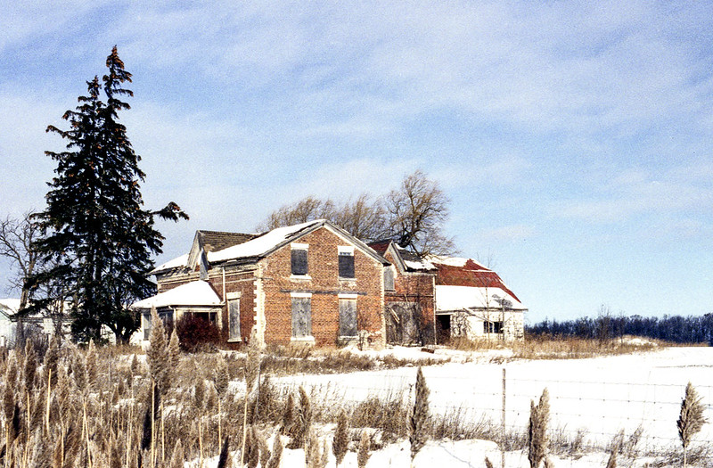 Abandoned Caledon Farm House