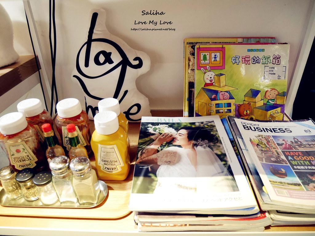 台北中山站義大利麵餐廳cafealamode (18)