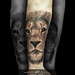 Lion Tattoo Head By Steve Toth