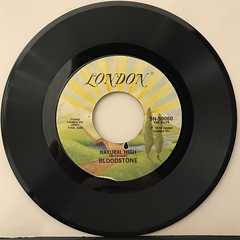 BLOODSTONE:NATURAL HIGH(RECORD SIDE-A)