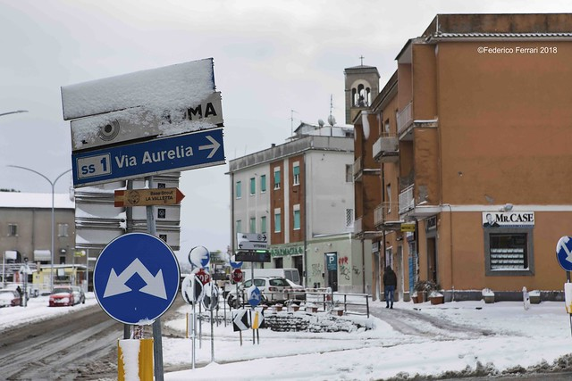 neve a La Storta Cartella