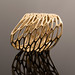 Custom Cell Cycle ring in brass by nervous system