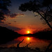 The Perfect Sunrise Over Villa Traful by johnsdigitaldreams.com