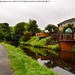 Canal At Copley, West Yorkshire.