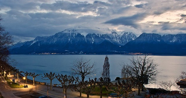 Vevey - the Swiss Riviera