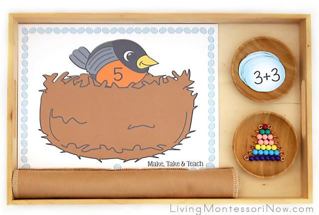 Robin's Nest Addition with Montessori Bead Bars