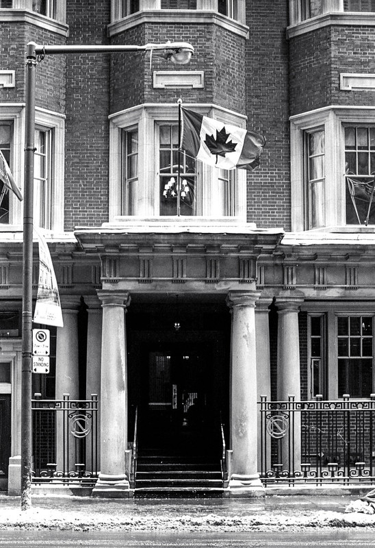 National Club Doorway