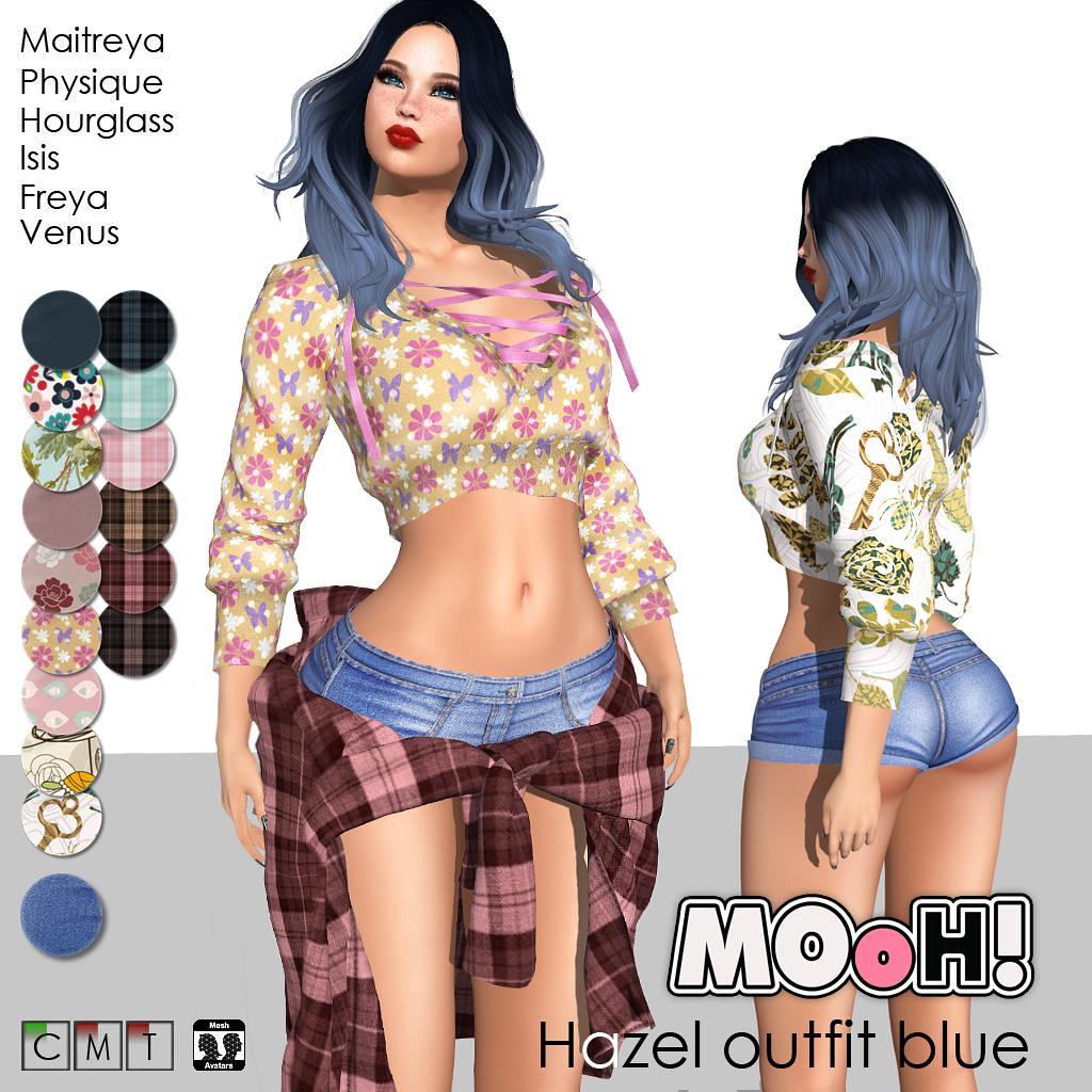Hazel outfit blue - TeleportHub.com Live!