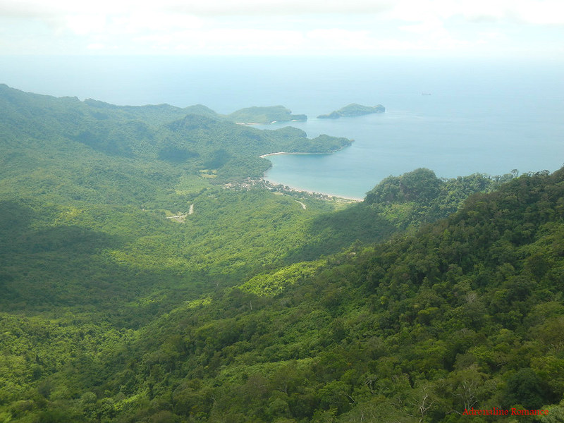 View from Pico De Loro's summit