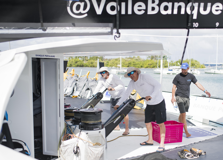 Maxi Banque Populaire IX - Tournée Guadeloupe février 2018