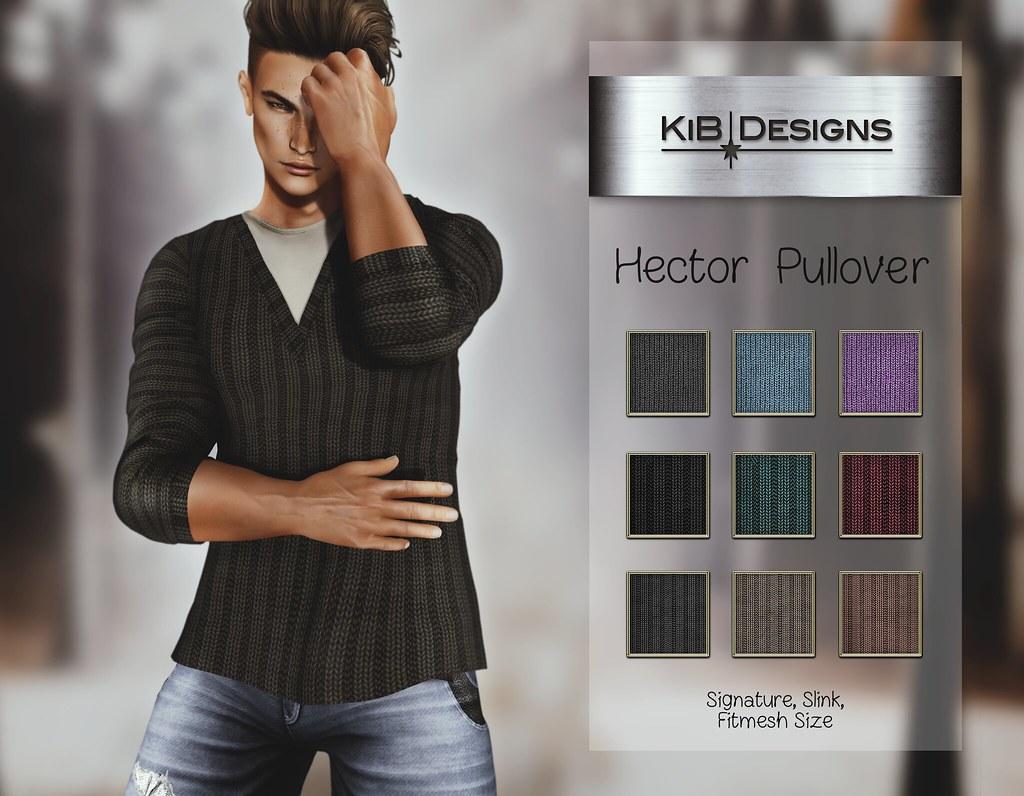 KiB Designs - Hector Pullover @TMZ - TeleportHub.com Live!