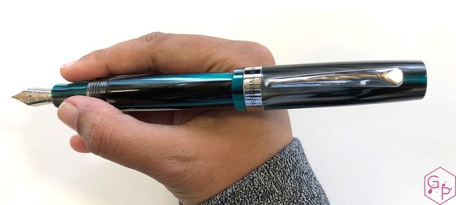 Review @MonteverdePens Giant Sequoia Fountain Pen - Fine @GouletPens @BrianGoulet_ 11