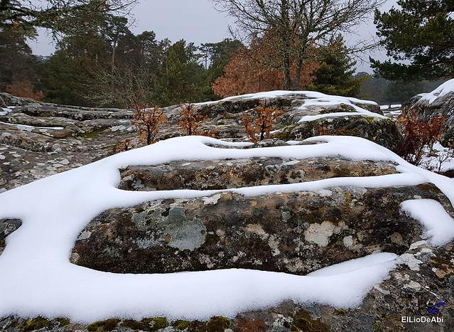 Necrópolis de Revenga y La Cerca con nieve 12
