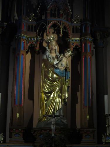20140804 02 479 Jakobus Marienthal Kirche Maria Statue