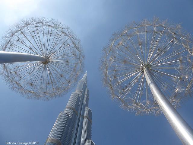 Burj Khalifa Dandelions