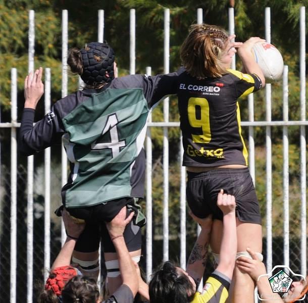 INEF Barcelona vs Getxo Artea - 3a Jornada Divisió Honor Rugby Femení 2014