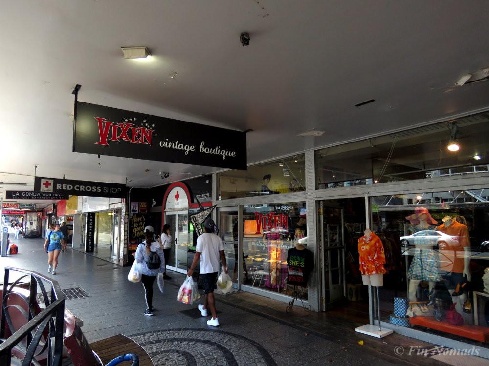 K-road second hand shops
