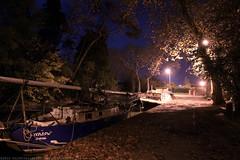 FR10 1005 Quai Edmond Combes. Le bassin du canal du Midi. Castelnaudary, Aude, Languedoc
