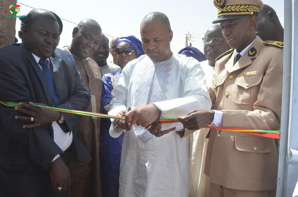 Inauguration d'infrastructures  de base à Mbakhna Par la Fondation SONATEL (31)