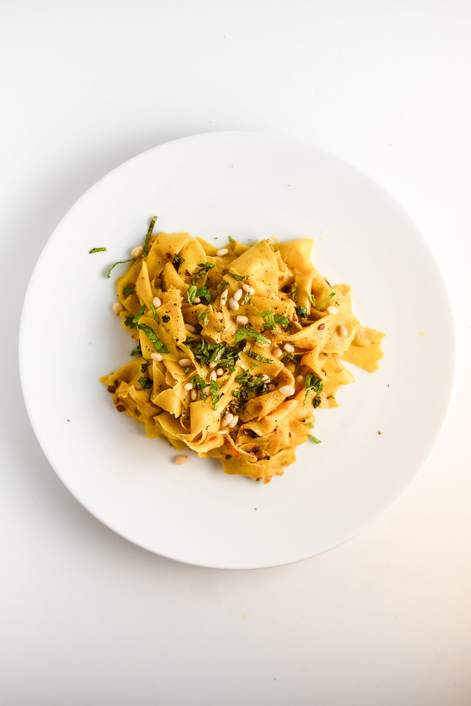 Saffron Pasta with Spiced Butter | Things I Made Today