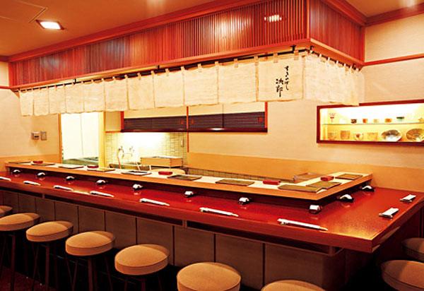 Interior Sukiyabashi Jiro