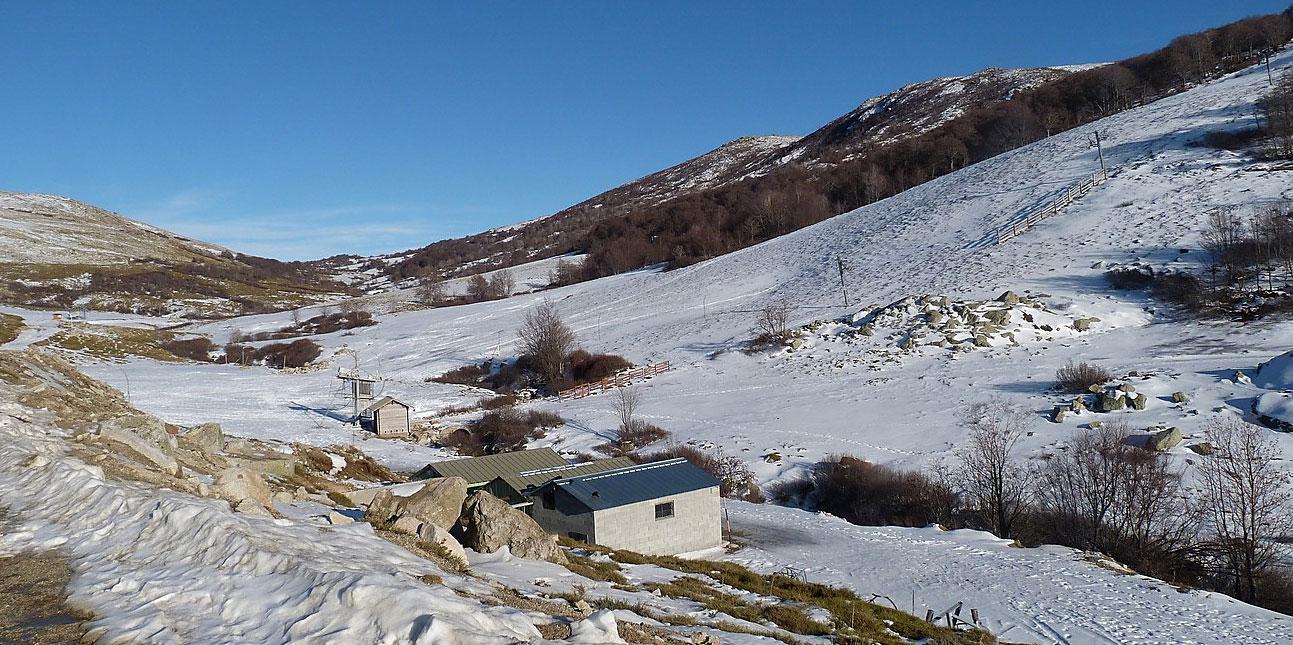 plateau d'Ese en hiver