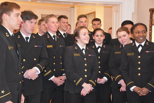 Class of 2018 4th Battalion Reception