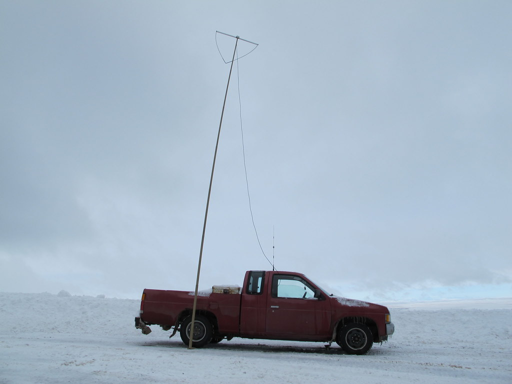 6 meter antenna in the air