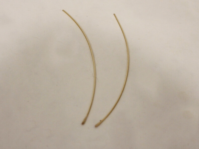 two hammered wires