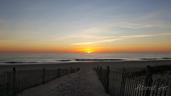 'Sunrise over the Atlantic' | a southern Delaware beach morning