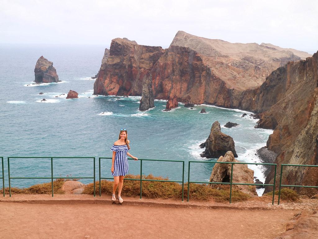 Acantilados en Madeira