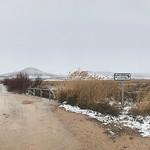 Panorámicas del entorno lagunar de La Guardia (Toledo) nevado. 4-2-2018