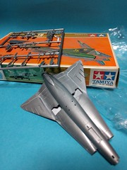 TAMIYA 1:100 J35F Draken