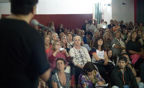 Presentación ante el público