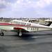 Piper PA24-260 Comanche C G-AXTO Gatwick 11-4-70