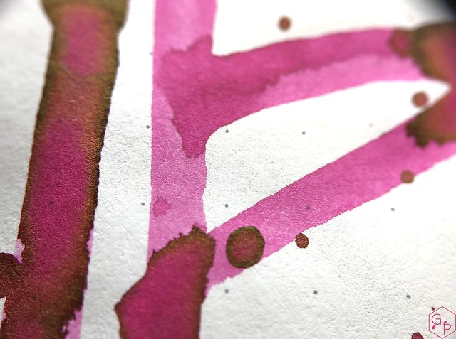 Ink Shot Review @LAMY Vibrant Pink 2018 Ink @laywines 23