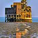 Grain Tower Battery, telephoto