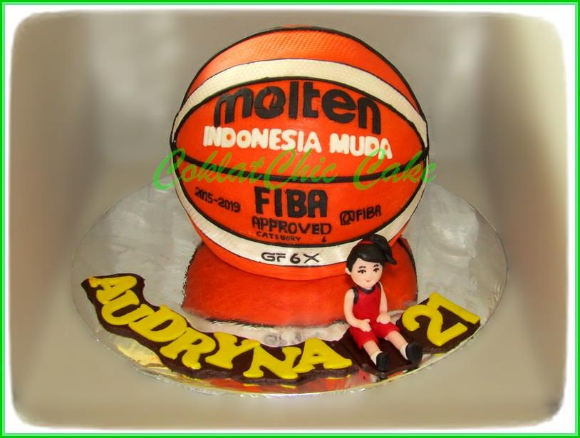 Cake Basketball AUDRYNA 15 cm