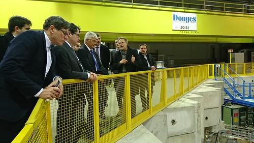 Latvijas uzņēmēju vizīte CERN