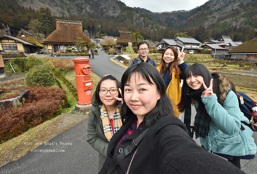 日本京都 美山 茅草屋 交通 巴士17