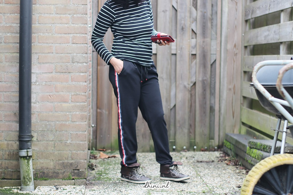 Fashion Striped Jogger