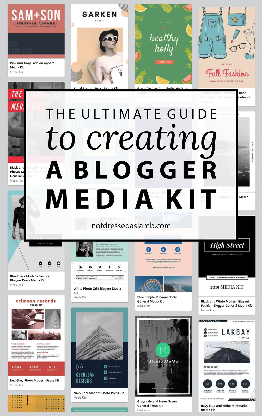The Ultimate Guide to Creating a Blogger Media Kit