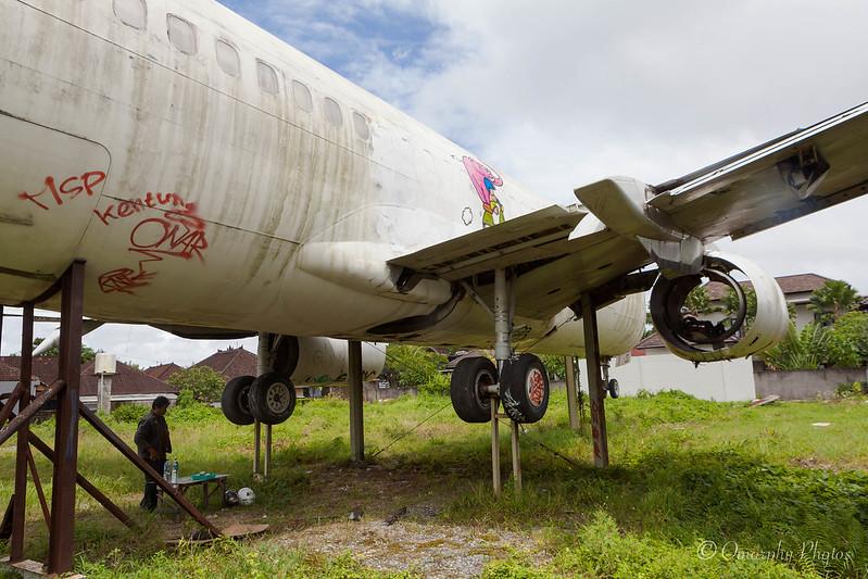 Boeing 747 abandonado