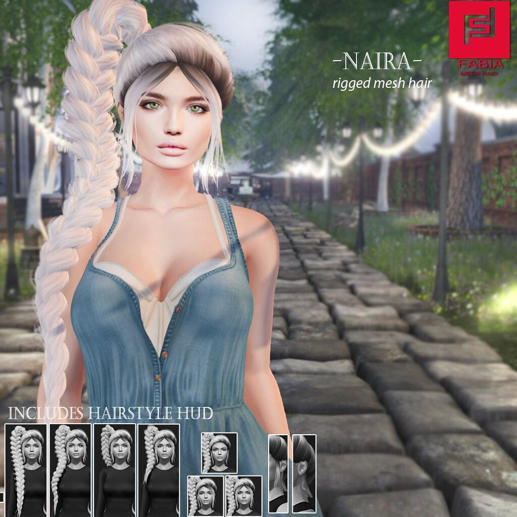 -FABIA- Mesh Hair   <Naira>