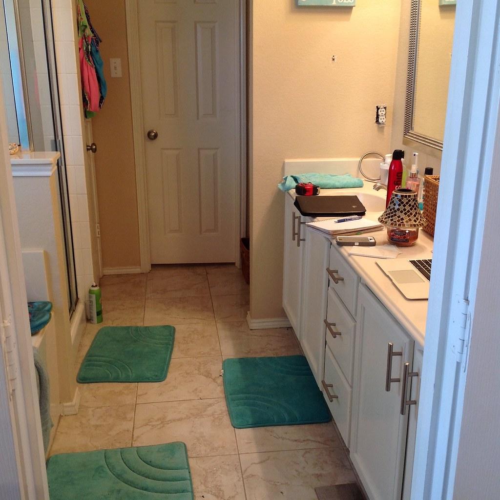 Plano Home Sale Make Ready Bathroom Remodel Project Plano - Handyman bathroom remodel